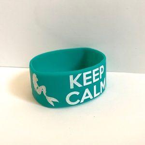 Keep Calm And Kiss The Girl Disney Bracelet
